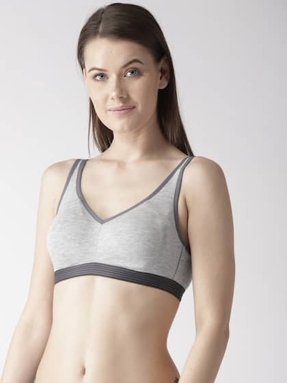 f6b1948c5ff Marks   Spencer Grey Melange Solid Non-Wired Non Padded Everyday Bra T337139