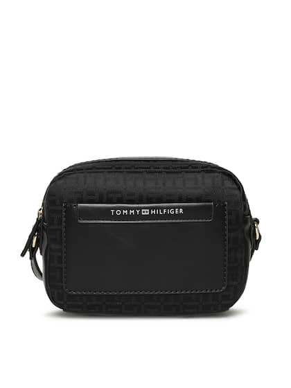 af50462517 Select a size. S. Tommy Hilfiger Black Textured Sling Bag