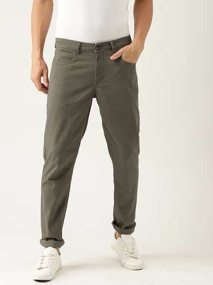 c8ff63b9fde5 Men Casual Trousers - Buy Casual Pants for Men in India - Myntra