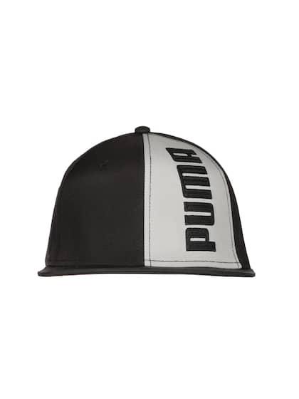 size 40 9034c 75090 Puma Unisex Black   Grey Printed Flatbrim Snapback Cap