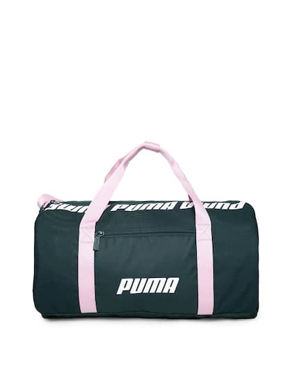67ea4fb140 Onesize. Puma Women Green Core Barrel S Solid Duffel Bag