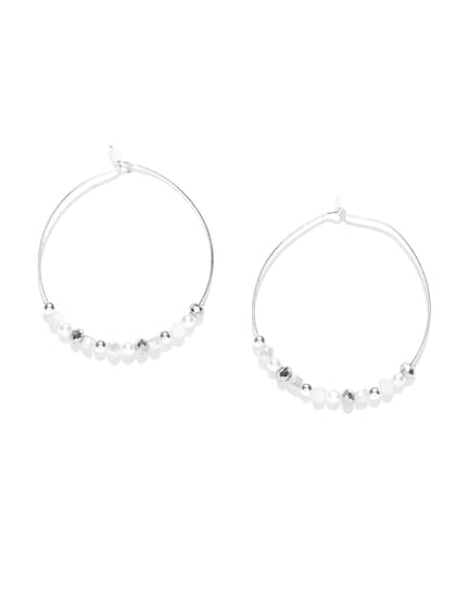 Accesorize Woman One Ear Sparkly Silver Look Earing New Traveling Jewellery & Watches Costume Jewellery