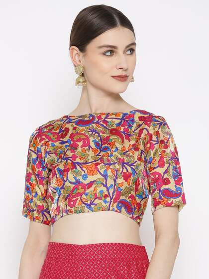 46b3bce2c8cbb6 Blouses - Shop for Designer Blouse Online in India