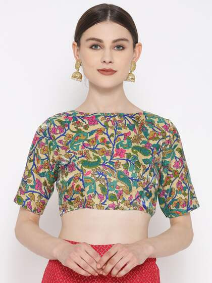 900f2fff4e90cd Blouses - Shop for Designer Blouse Online in India
