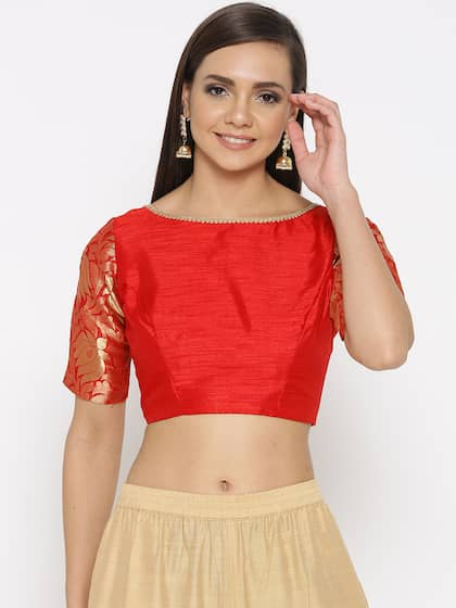 Blouses Shop For Designer Blouse Online In India Myntra