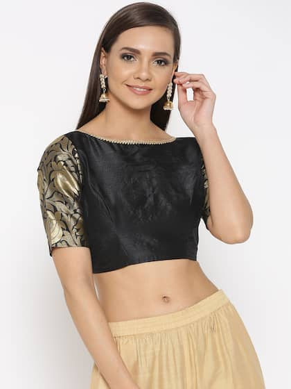 a4ee40d413f Blouses - Shop for Designer Blouse Online in India   Myntra