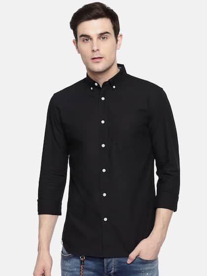 c41aab46bc Jack   Jones Black Shirts - Buy Jack   Jones Black Shirts online in ...