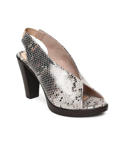 aded92ca403 Peep Toe Heels - Buy Peep Toe Heels Online in India