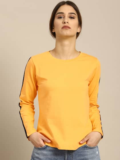 1f3f8714287f3 ether. Solid Round Neck T-shirt