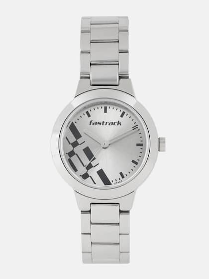 9161fc006be Fastrack Women Silver-Toned Analogue Watch NK6150SM01