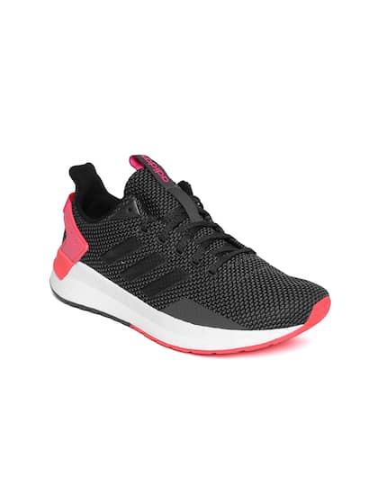 huge selection of 3c5c0 2db0d ADIDAS Women Charcoal Grey   Black QUESTAR RIDE Running Shoes