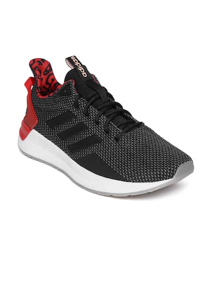 bd7214b9b1da4 ADIDAS Men Black QUESTAR RIDE Textile Mid-Top Running Shoes