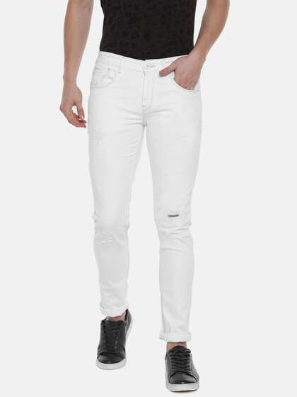 13fa409471 White Jeans For Men - Buy White Jeans For Men online in India
