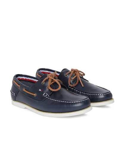 34207580dd304b Tommy Hilfiger. Men Boat Leather Shoes