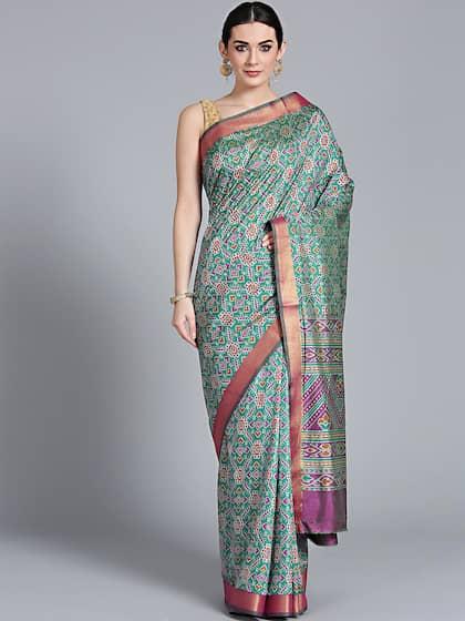 c818056b68aa0d Ikat Sarees Online - Shop Attractively Designed Ikat Saree