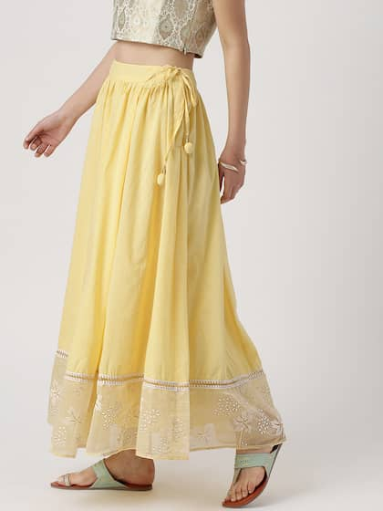 bfaf9adfb Ethnic Long Skirts - Buy Ethnic Long Skirts Online | Myntra