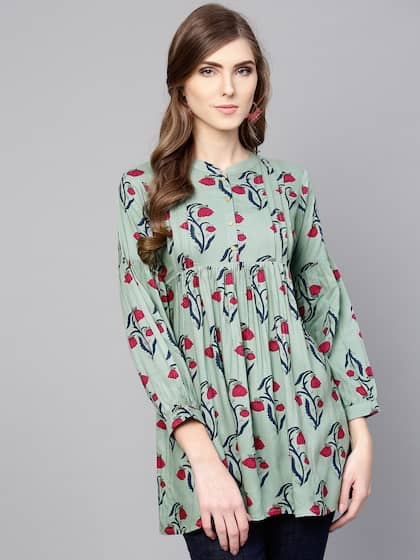 490cec01eb Ethnic Tops - Buy Ethnic Wear for Women Online in India