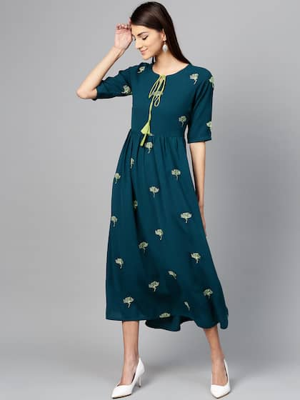 3a4ba48d419 Long Dresses - Buy Maxi Dresses for Women Online in India - Upto 70% OFF