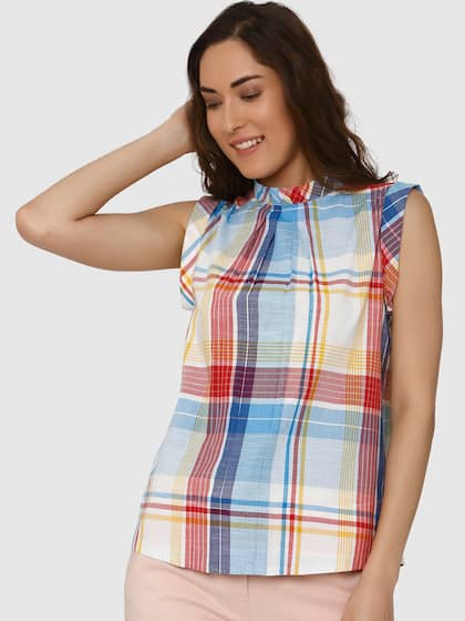 789c1bb520220b Vero Moda. Checked Top