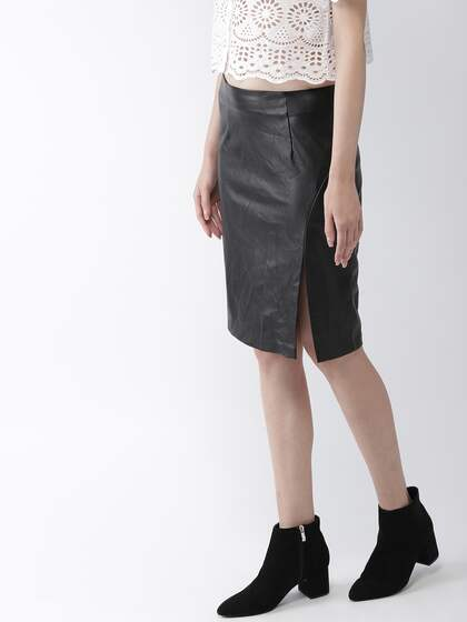 bcab6d16aab Leather Skirt - Buy Leather Skirt online in India