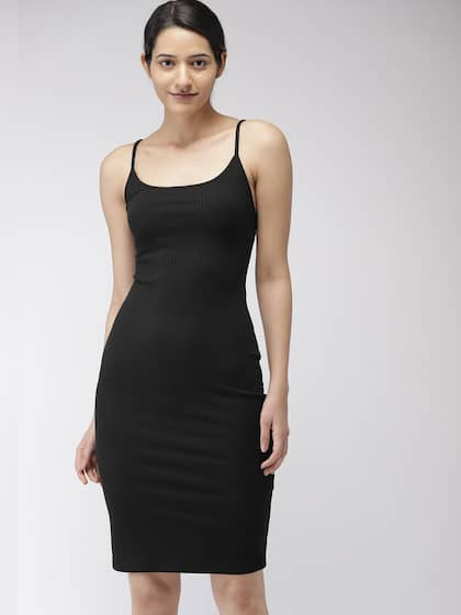 Bodycon Dress Buy Stylish Bodycon Dresses Online Myntra