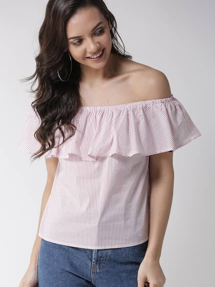 b96d0f41f13 Off Shoulder Tops - Buy Off Shoulder Tops Online in India | Myntra