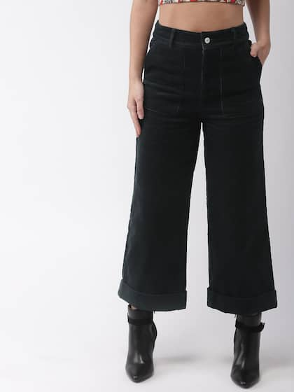 fbf9d74d8cd Corduroy Trousers Women - Buy Corduroy Trousers Women online in India