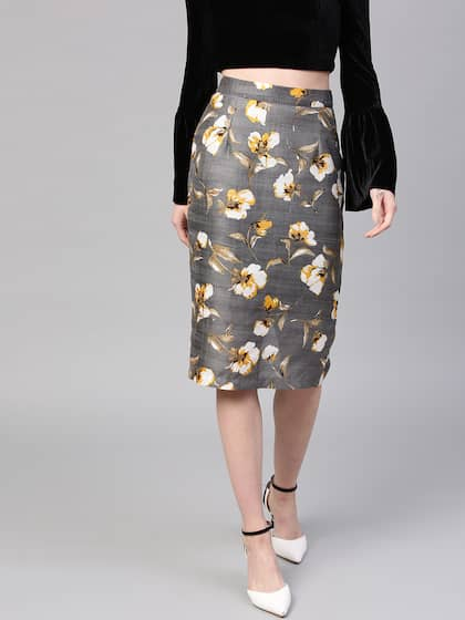 0838ef6811 Pencil Skirt - Buy Pencil Skirt online in India