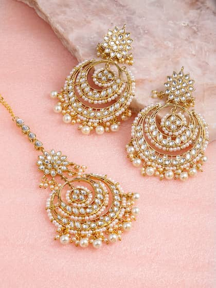 9237ed272f8dfb Jewellery Set - Buy Jewellery Sets Online in India | Myntra