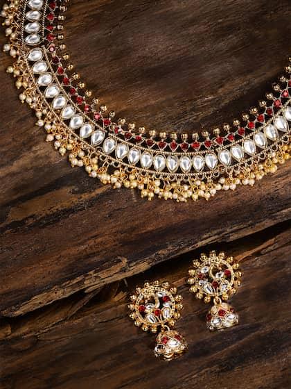 c2e54e46f1331 Zaveri Pearls Jewellery Set - Buy Zaveri Pearls Jewellery Set online ...