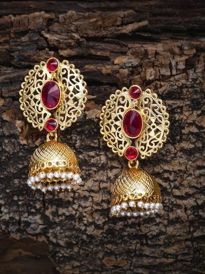 56246c111 Jhumkas - Buy Jhumka Earrings Online in India