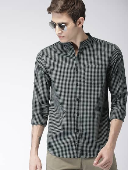 16706636 Shirts for Men - Buy Mens Shirt Online in India | Myntra