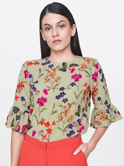 ea8be83ad875 Tops - Buy Designer Tops for Girls & Women Online | Myntra