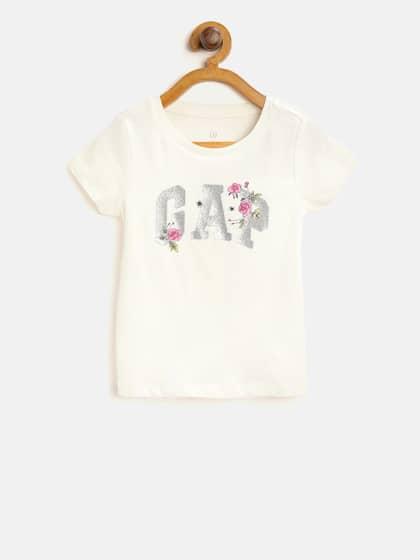 4c14fd720212 NEW Lot 2 Gap Kids T-shirt logo Gap Fit Shorts Girls SZ S 6-7 ...