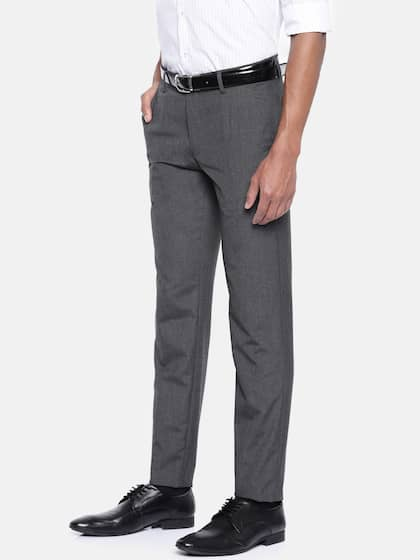 603b3c1cb Peter England Trousers - Buy Peter England Trousers Online in India