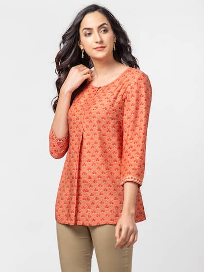 2e73f0d8a Round Neck Kurti - Buy Round Neck Kurtis For Women Online in India