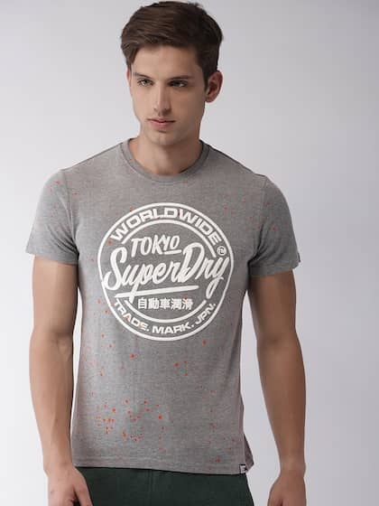 competitive price 93336 fed8a Superdry. Printed Round Neck T-shirt