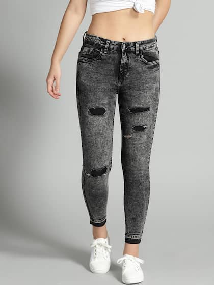 fd6a4f4fea6f3 Ripped Jeans - Shop for Ripped Jeans Online in India | Myntra