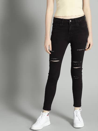 a7e0f34984 Jeans for Women - Buy Womens Jeans Online in India | Myntra