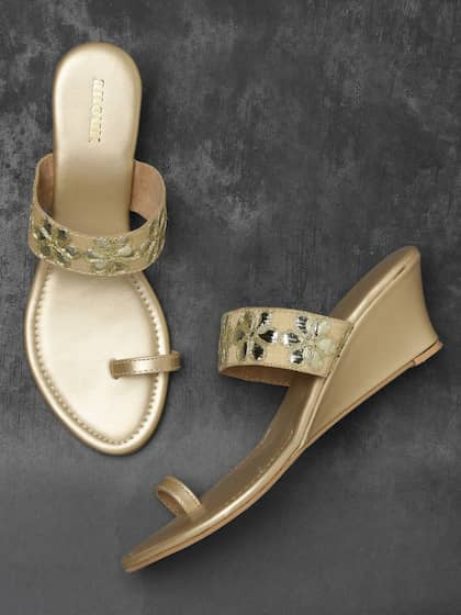 382eb3d1ac0d Gold Heels | Buy Gold Heels Online in India at Best Price