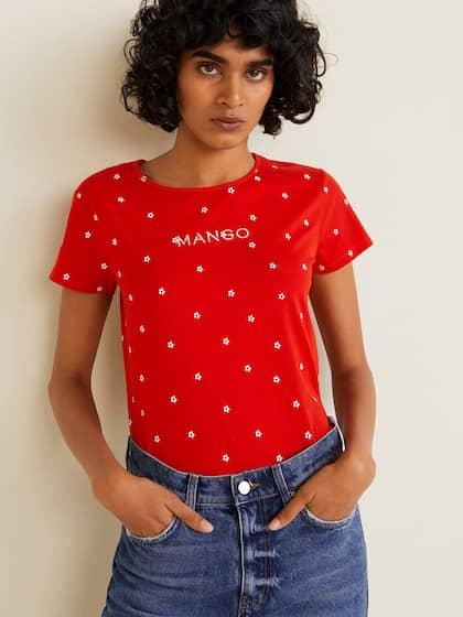 1ee1167492 Mango Tshirts - Buy Mango Tshirts online in India