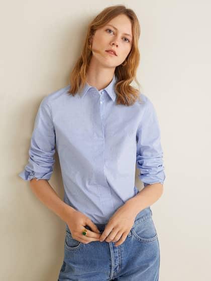 e608003e7d Women Shirts - Buy Shirts for Women Online in India   Myntra