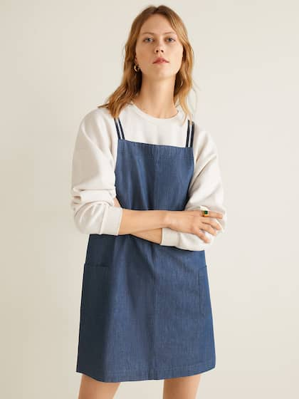 81b6abecd7 Denim Dresses - Buy Denim Dresses Online in India