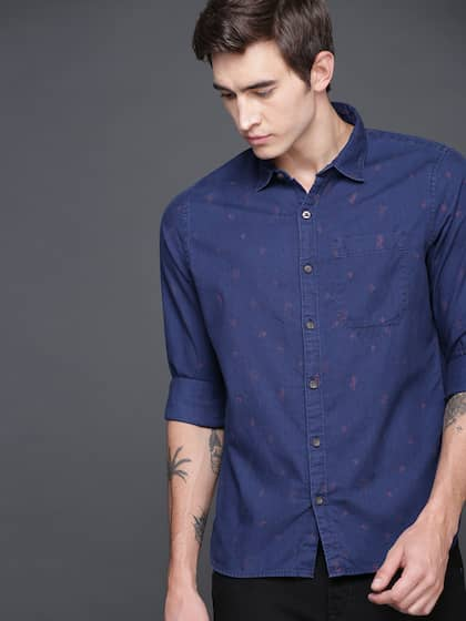991cc3f5aacefa Wrogn Shirts - Buy Wrogn Shirts online in India