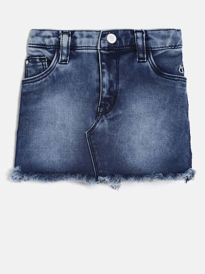 Clothing, Shoes & Accessories Learned Denim Mini Skirt Size 10