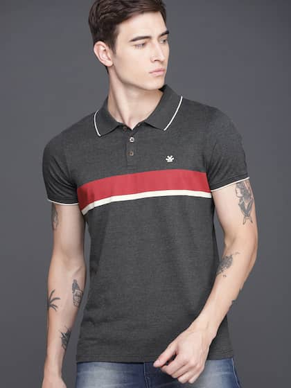 4345e971cf Collar T-shirts - Buy Collared T-shirts Online | Myntra