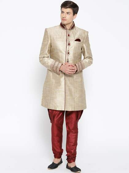 e9543cedd5 Sherwani - Buy Sherwani for Men & Kids Online in India   Myntra