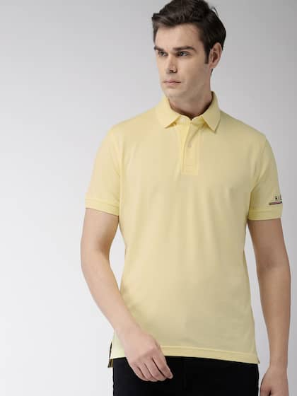 61e68bac Tommy Hilfiger Yellow Tshirts - Buy Tommy Hilfiger Yellow Tshirts ...