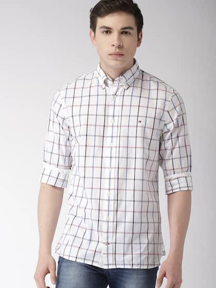 6cb4bd73d38 Men Check Shirts - Buy Men Check Shirts online in India