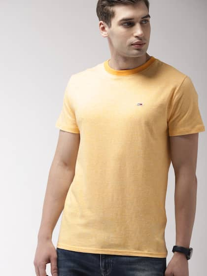1a280d604cc75 Tommy Hilfiger Yellow Tshirts - Buy Tommy Hilfiger Yellow Tshirts ...